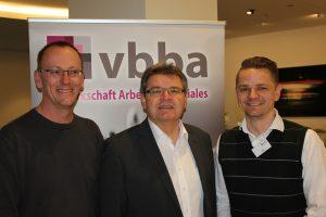 v.l.n.r.: Sven Strauß, Waldemar Dombrowski, Steffen Grabe